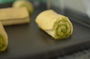 2l-Pesto roll rolled