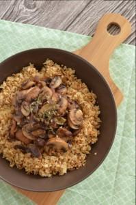 BC01-5-Cauliflower Couscous with Mushrooms