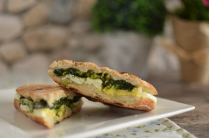 BC03-1-Boiled egg and creamy spinach panini