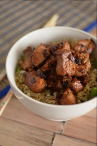 BC03-2-Chinese Pork with Stir-Fried Rice
