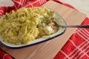 Fish Pie with Leek Potato Mash1