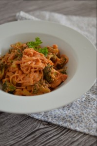 Pasta in Tomato Vodka Sauce