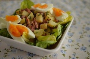 Potato Salad with Bacon and Egg1
