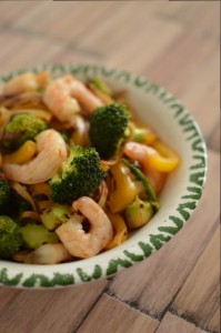 Shrimp Broccoli Stir-Fry