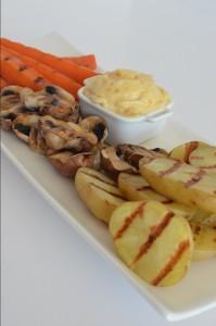 BC06-5-Roast vegetables with garlic mayo
