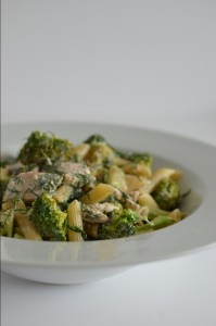 BC08-2- Salmon and Broccoli Pasta