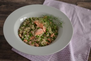 BC08-8-Salmon Risotto with Peas