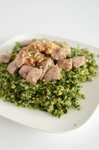 BC09-4 - Pork in coconut milk with Kale Fried Rice