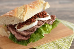 BC10-3 - Steak and mozzarella sandwich