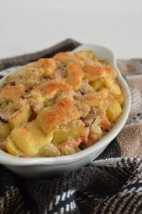 BC10-8 - Smoked salmon and cauliflower gratin