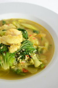 BC11-8-Spicy Burmese fish soup