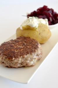 BC12-6-cheese filled hamburger