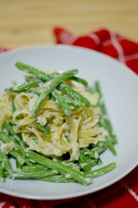 BC13-8-Tagliatelle with garlic beans