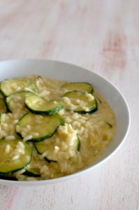 BC14-5-Three cheese courgette risotto