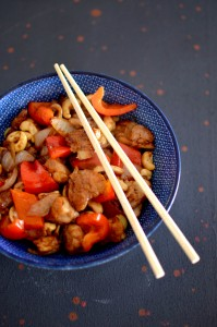 BC14-7-Chicken and bell pepper in oyster sauce