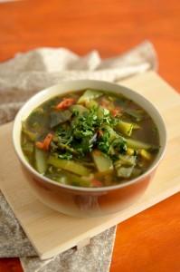 BC15-9-Thai leek and cucumber soup